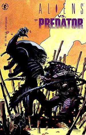 aliens vs. predator comic