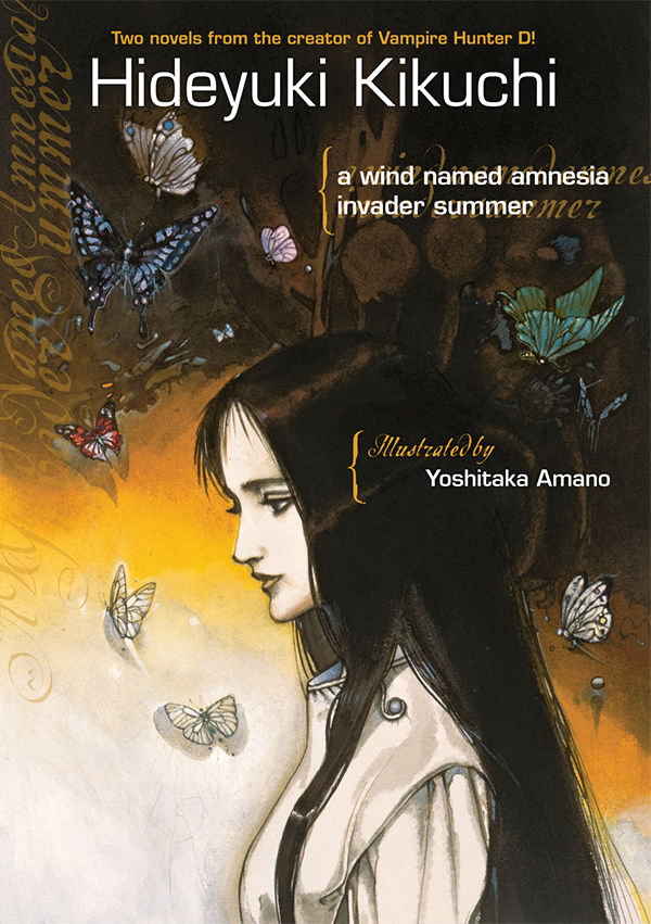A Wind Named Amnesia and Invader Summer book cover
