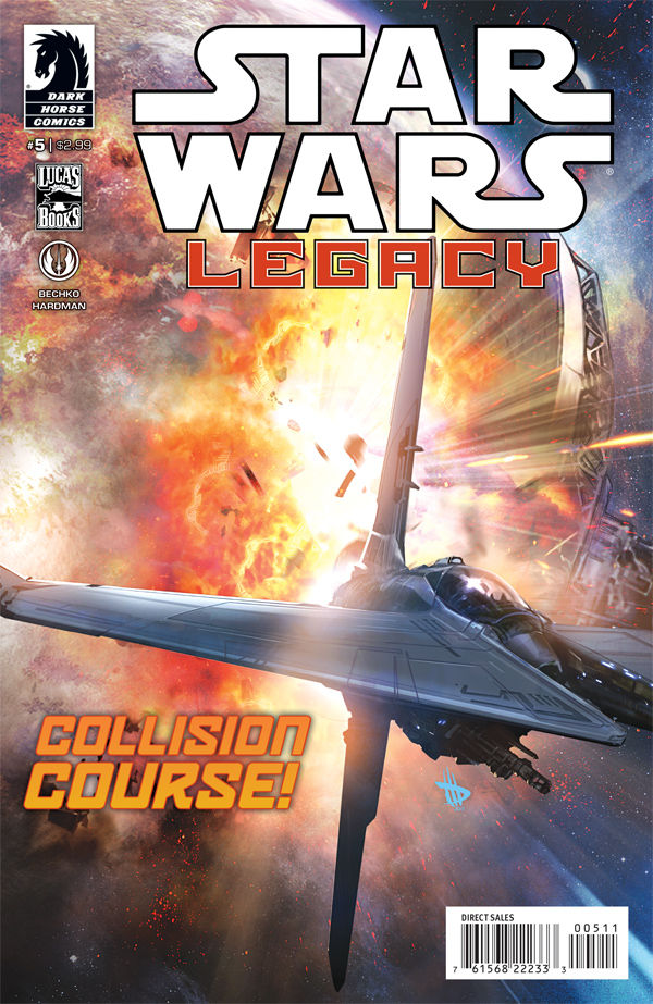star wars legacy #5 review