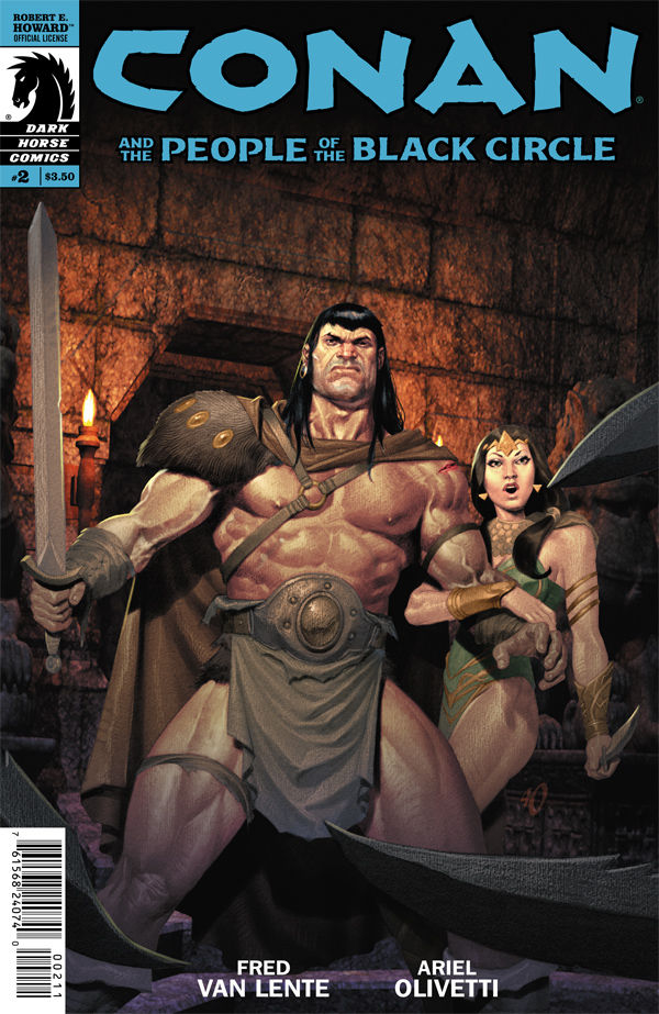 Conan and the People of the Black Circle #2