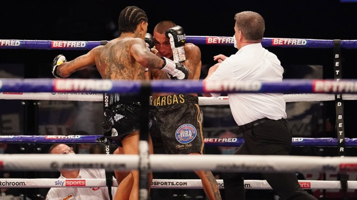 Samuel Vargas didn't quite expect the pop to Conor Benn's punches earlier this year | Benn vs Granados