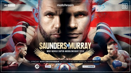 Billy Joe Saunders: I Would Be Disappointed If I Blew Martin Murray Away In  One Round | DAZN News US