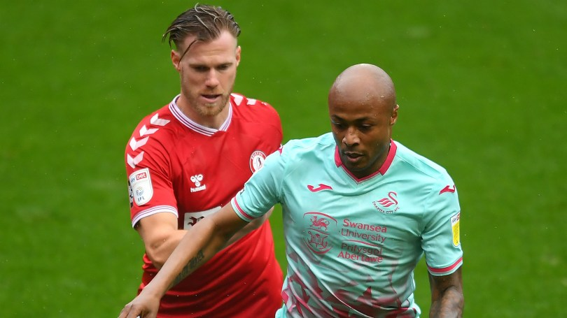 Swansea City manager Cooper on Andre Ayew's reported£80,000 weekly wage and recent performances
