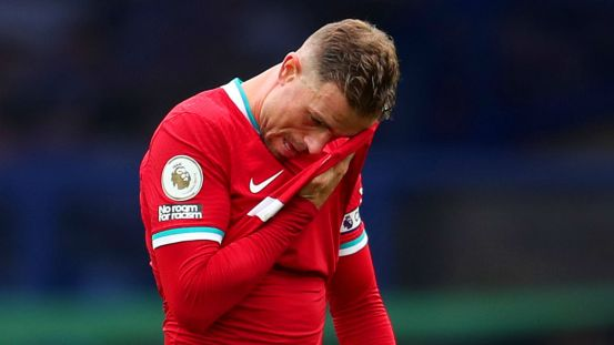 Liverpool captain Henderson has been absent for at least five weeks after undergoing surgery for groin problems