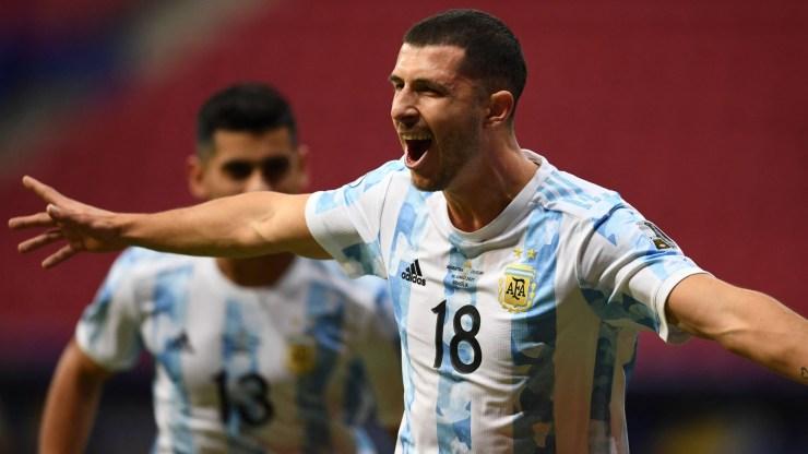 Gol y resumen de Argentina 1-0 Uruguay, por la Copa América: videos, polémicas y estadísticas   Goal.com