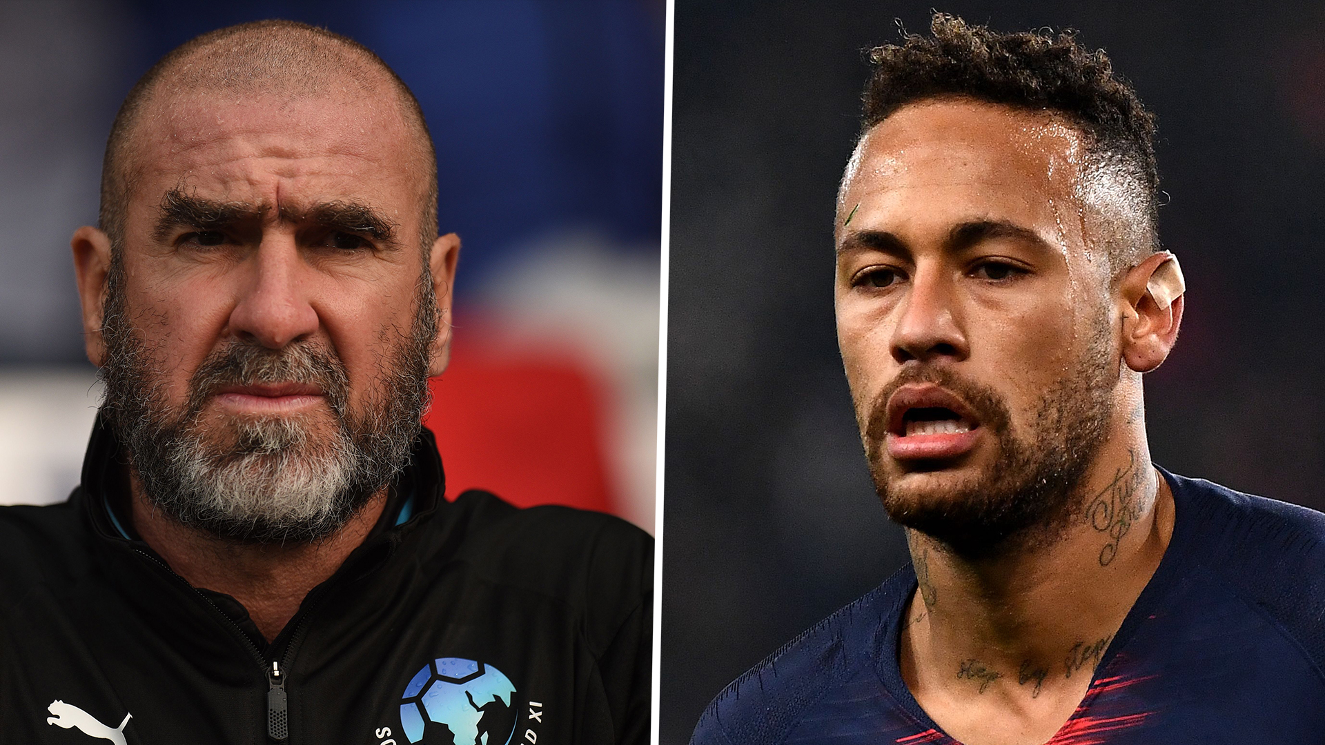 Neymar's 'flamboyant' hair during brazil's draw against switzerland on monday night was a big talking point in an otherwise disappointing. Man Utd News Eric Cantona Mocks Neymar On Social Media Days After Heated Altercation With His Dad In Psg Clash Goal Com