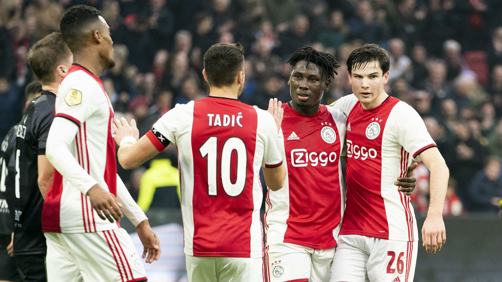 Champions League: Records tumble for Traore as Ajax hold Atalanta