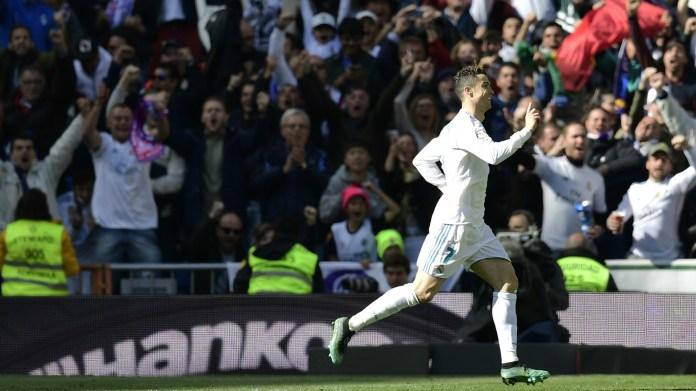 Cristiano Ronaldo Real Madrid Atletico LaLiga