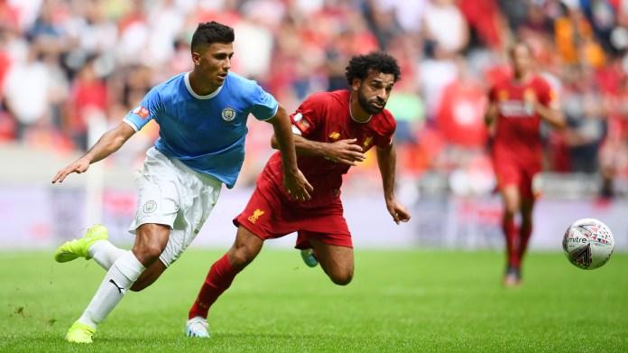 Manchester City Liverpool Community Shield 2019