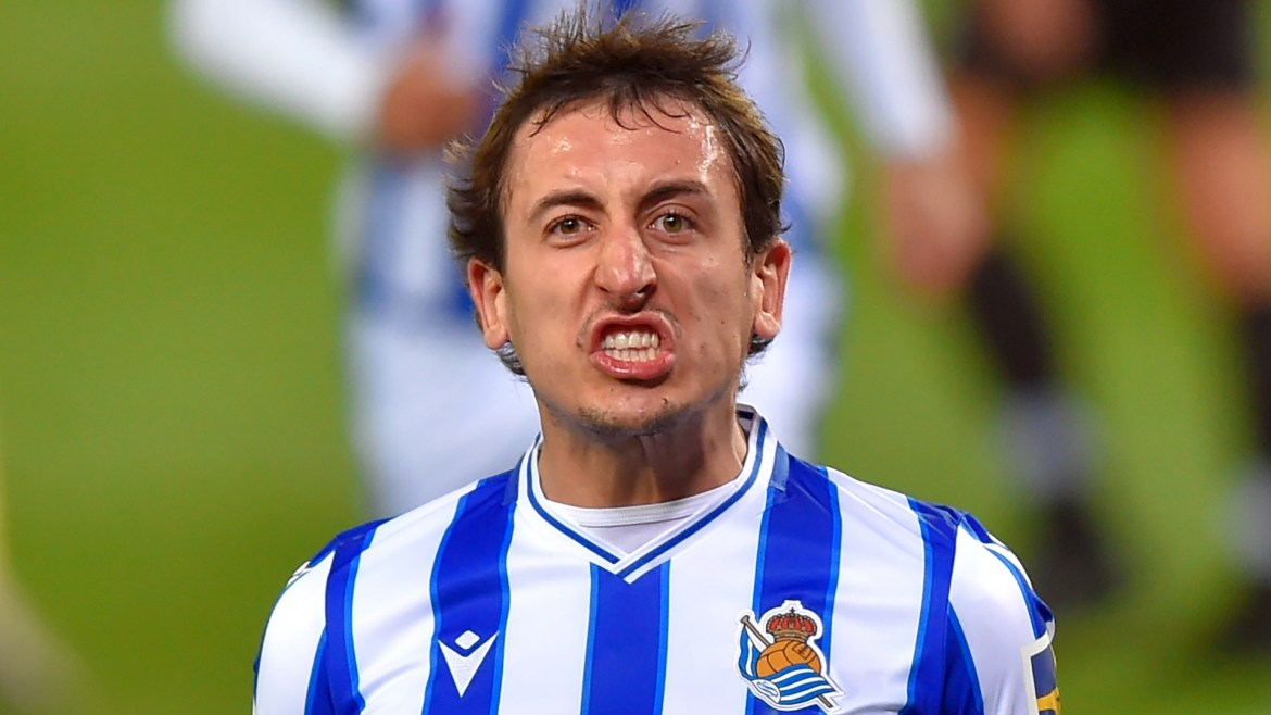 Image result for Oyarzabal ruled out of Real Sociedad vs Man Utd Europa League clash with hamstring injury.