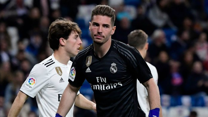 Real Madrid transfer news: Luca Zidane leaves for Racing Santander ...
