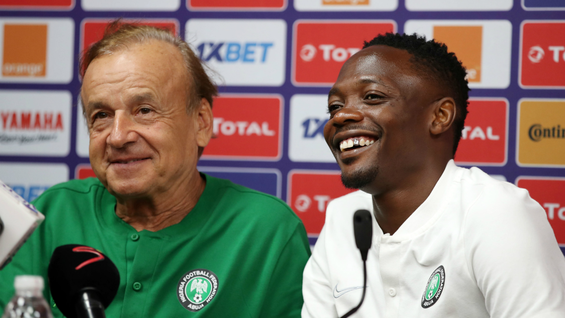 NFF confirms Super Eagles players and coaches returned negative coronavirus tests