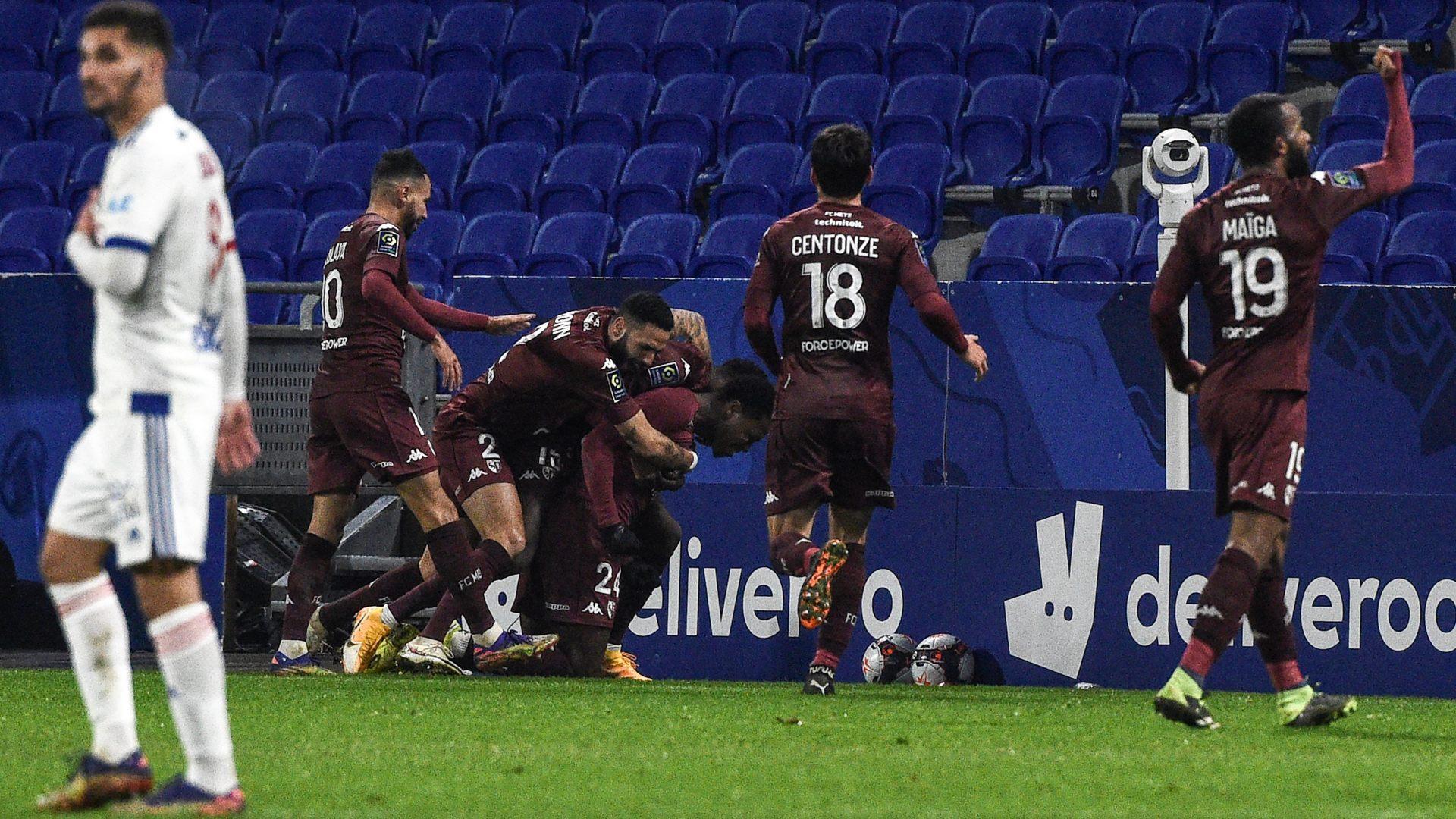 Iseka fires Boye's Metz past Toko Ekambi's Lyon