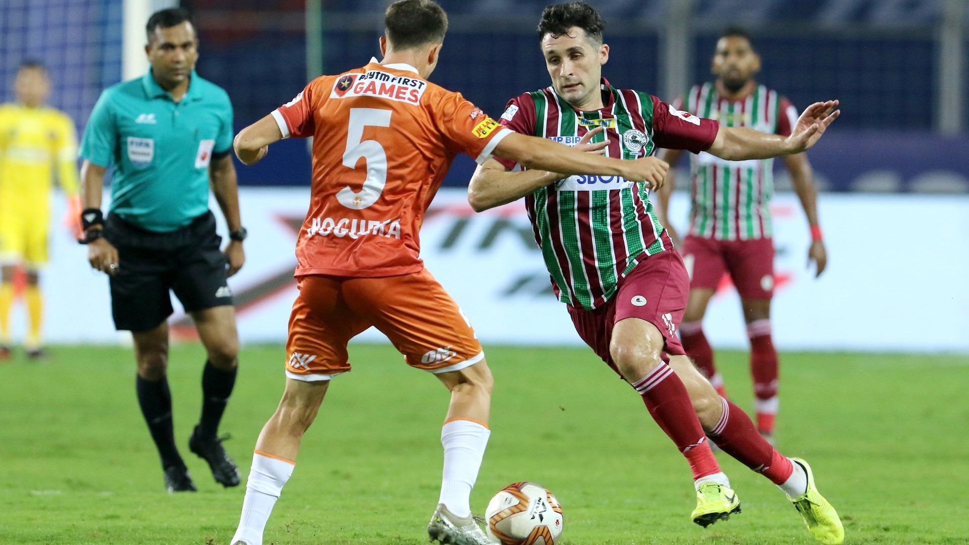 Work hard, work hard – FC Goa undone by ATK Mohun Bagan's workrate