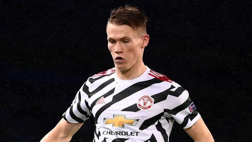 McTominay admits he wouldn't have made it anywhere other than Man Utd