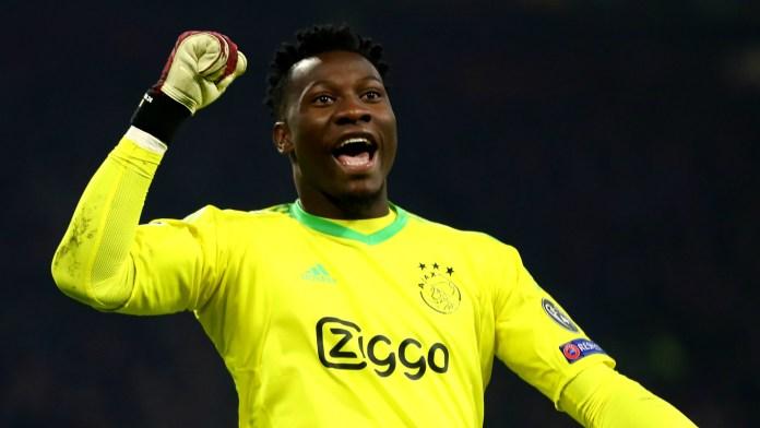 Ajax goalkeeper Andre Onana dreams of emulating the best ...
