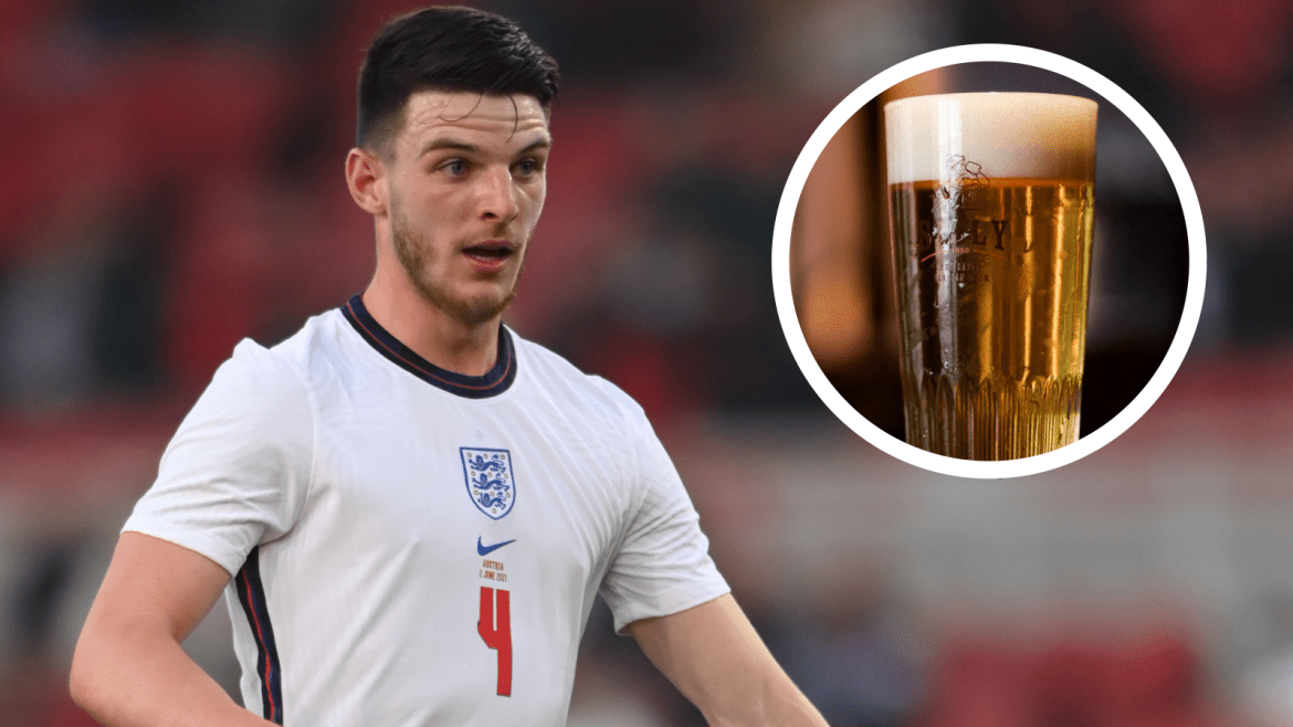 England star Rice vows to drink first-ever beer if Three Lions win Euro 2020  | Goal.com