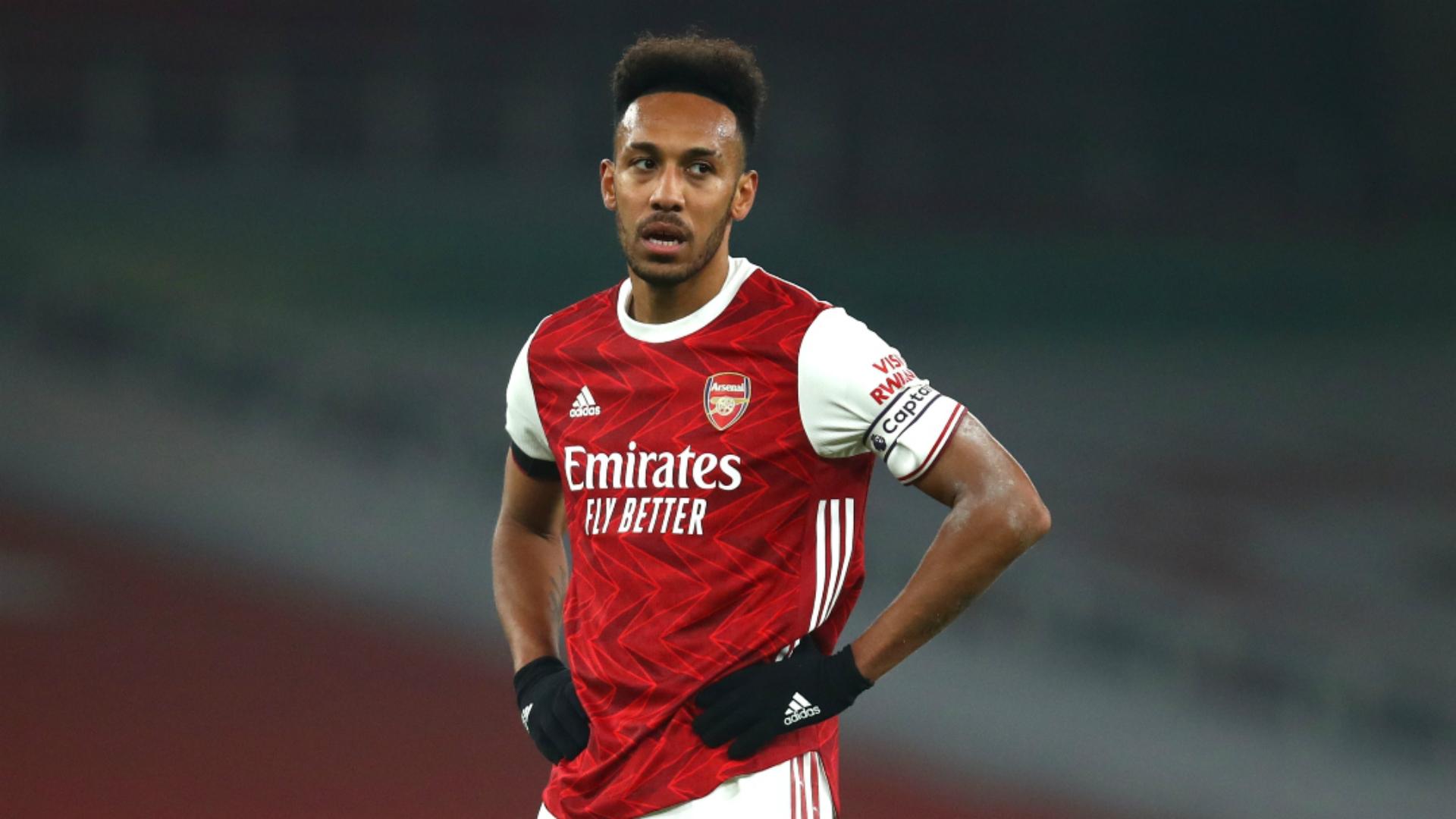 Arsenal boss Arteta urges slumping Aubameyang not to overthink things