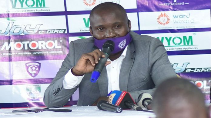 wakiso giants coach douglas
