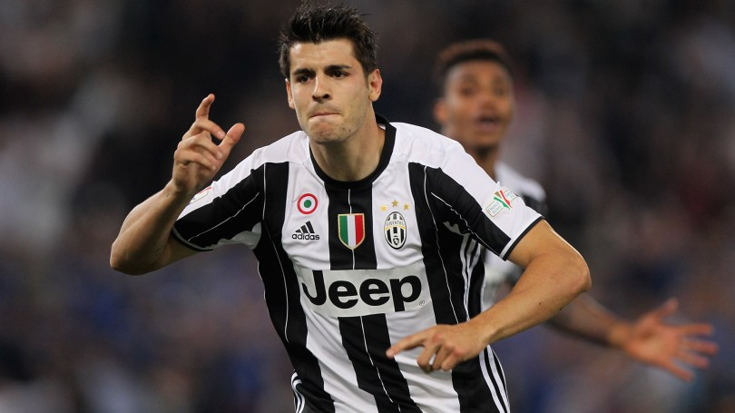 Morata arrives in Turin ahead of expected transfer to Juventus