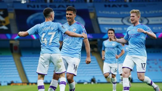 Manchester City 4-0 Liverpool: De Bruyne, Sterling and ...