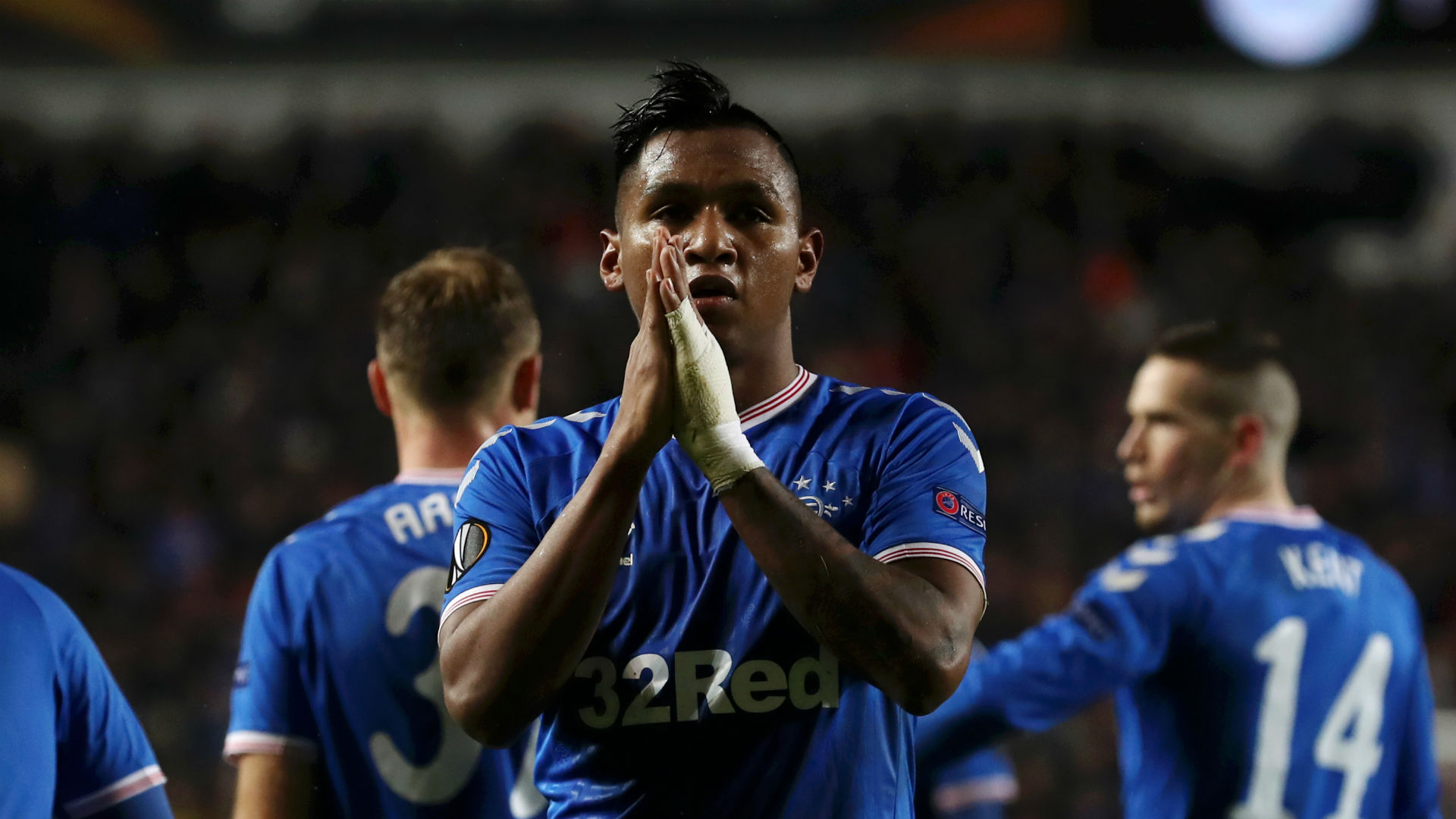 Rangers Aribo survive late scare to seal knock out phase in europa league