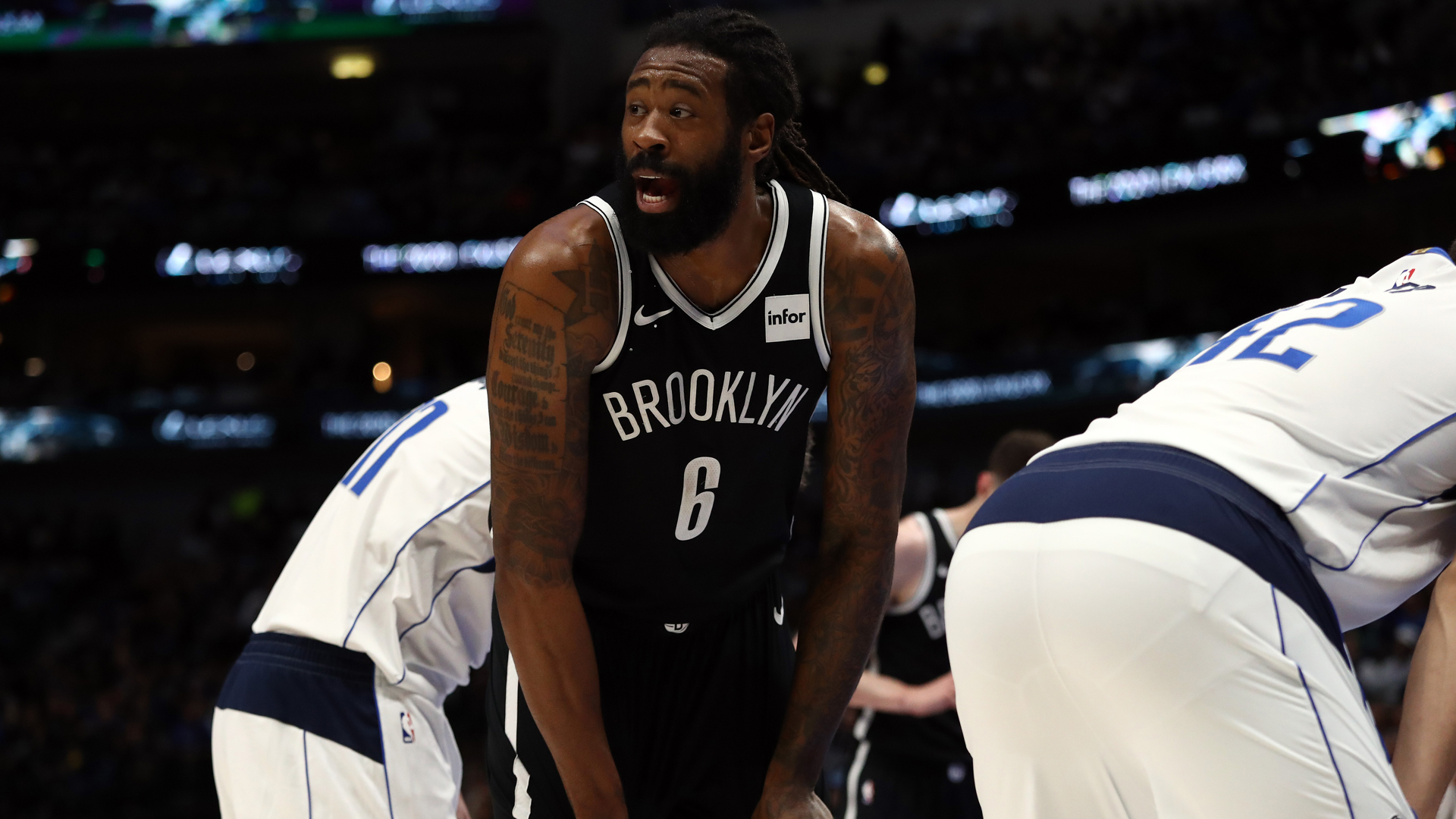 Photo of Nets' DeAndre Jordan exams optimistic for COVID-19, will not play in Florida