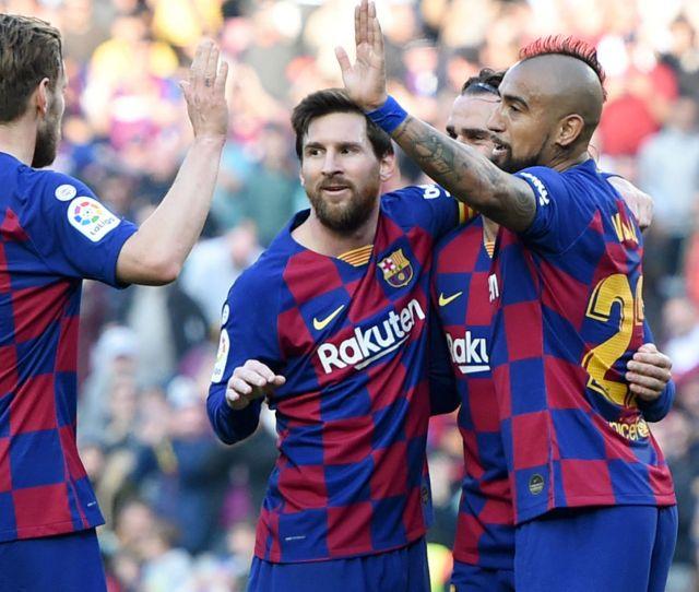 Barcelona V Eibar Match Report  Primera Division