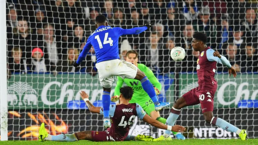 Leicester City v Aston Villa Match Report, 08/01/2020, League Cup 1