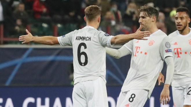 Lokomotiv Moskva v Bayern München Match Report, 27/10/2020, UEFA Champions League