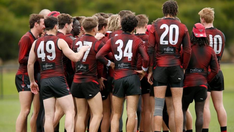 Essendon vs Carlton clash going ahead; only two Bombers ...