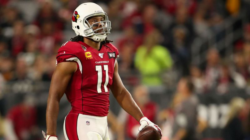 Larry Fitzgerald is back with the Cardinals. Broad Receiver says that he doesn't feel the 'urge' to play now