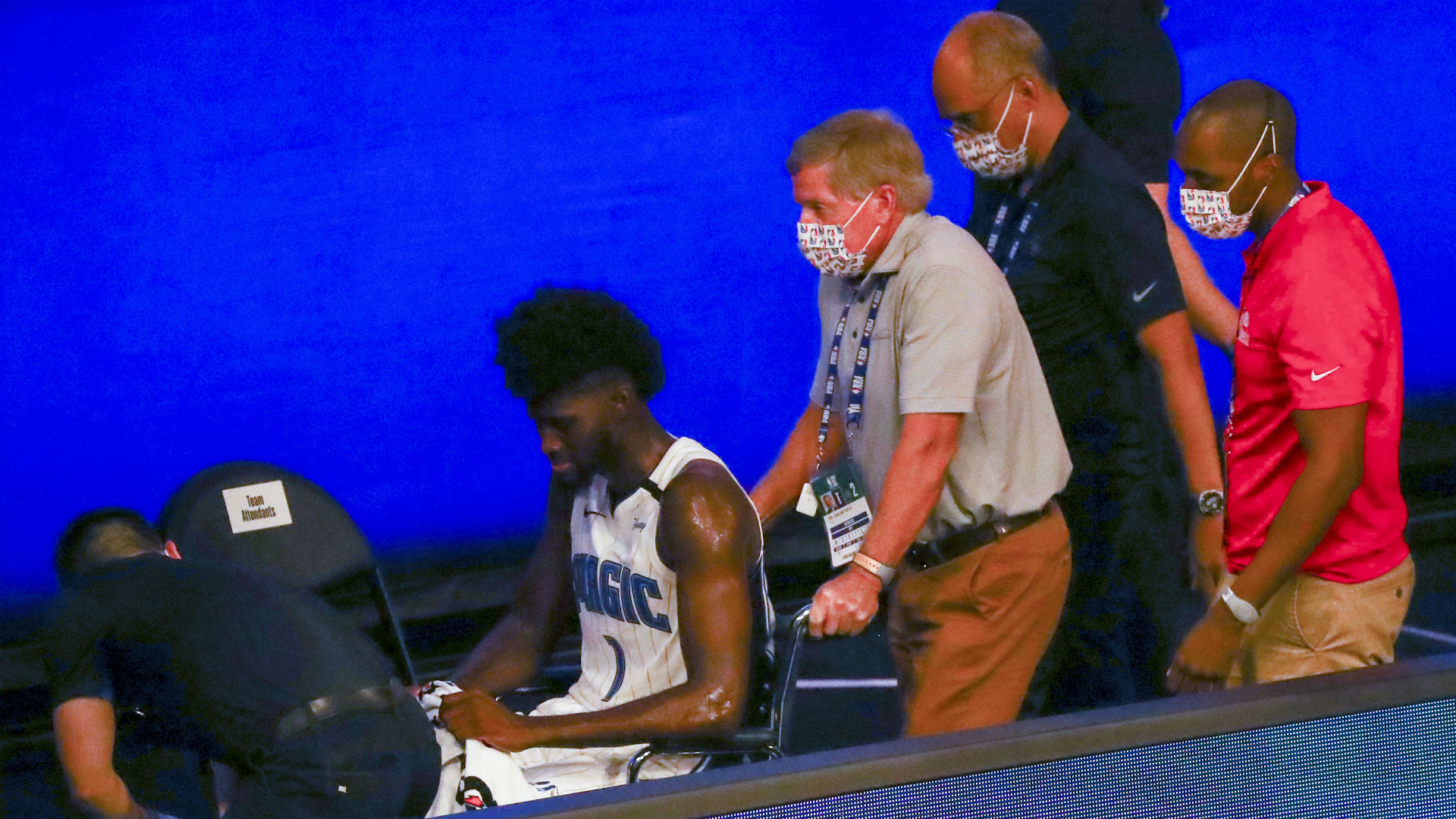 NBA players show support for Jonathan Isaac after Magic ...