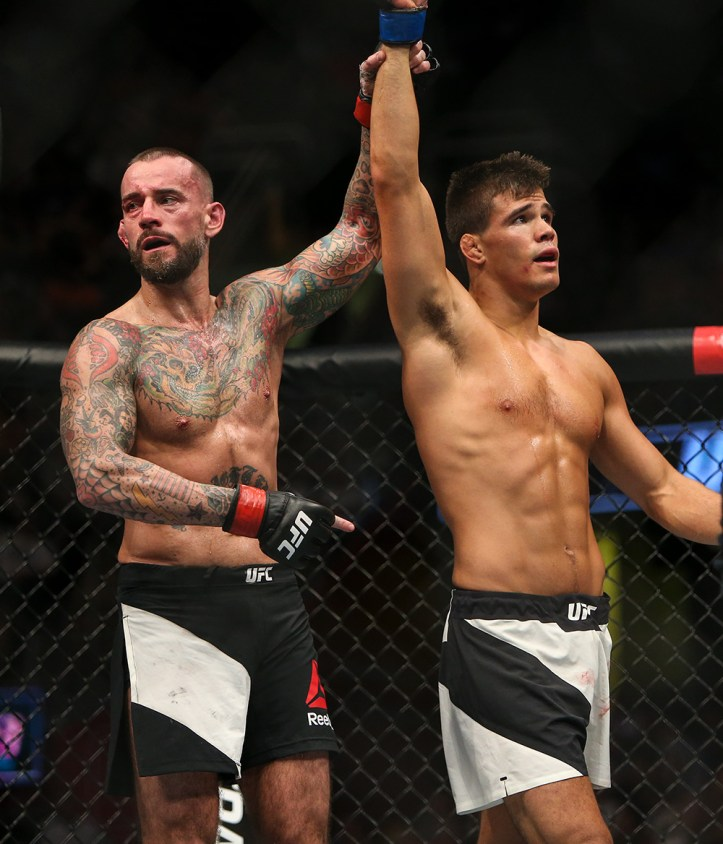 After a Hall of Fame scrap, Mickey Gall emerges victorious against the ferocious CM Punk | Gall vs Williams