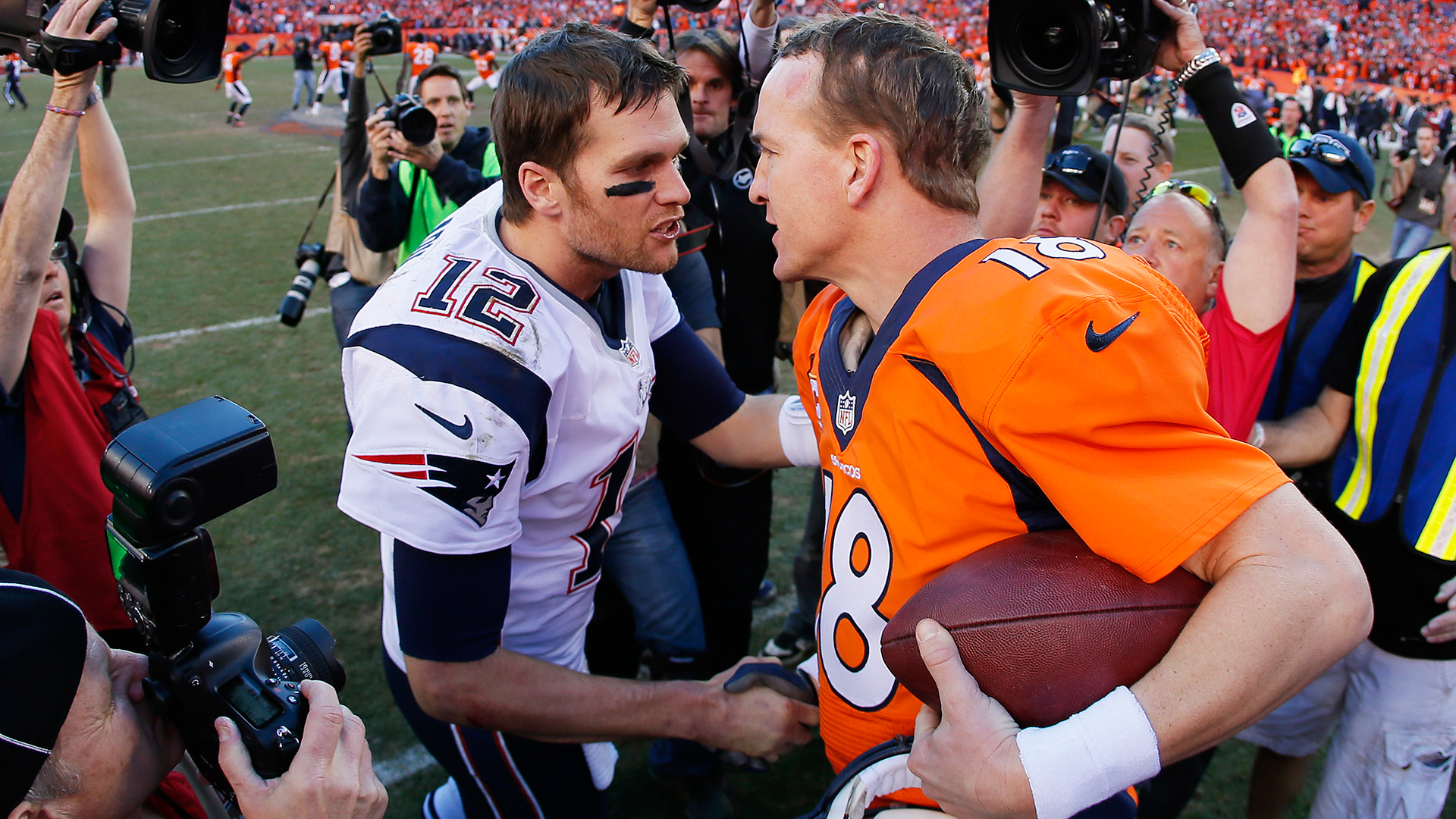 Tom Brady vs. Peyton Manning: Looking back at their 17 legendary head-to-head matchups