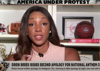 ESPN's Maria Taylor delivers passionate response to Drew Brees' apology