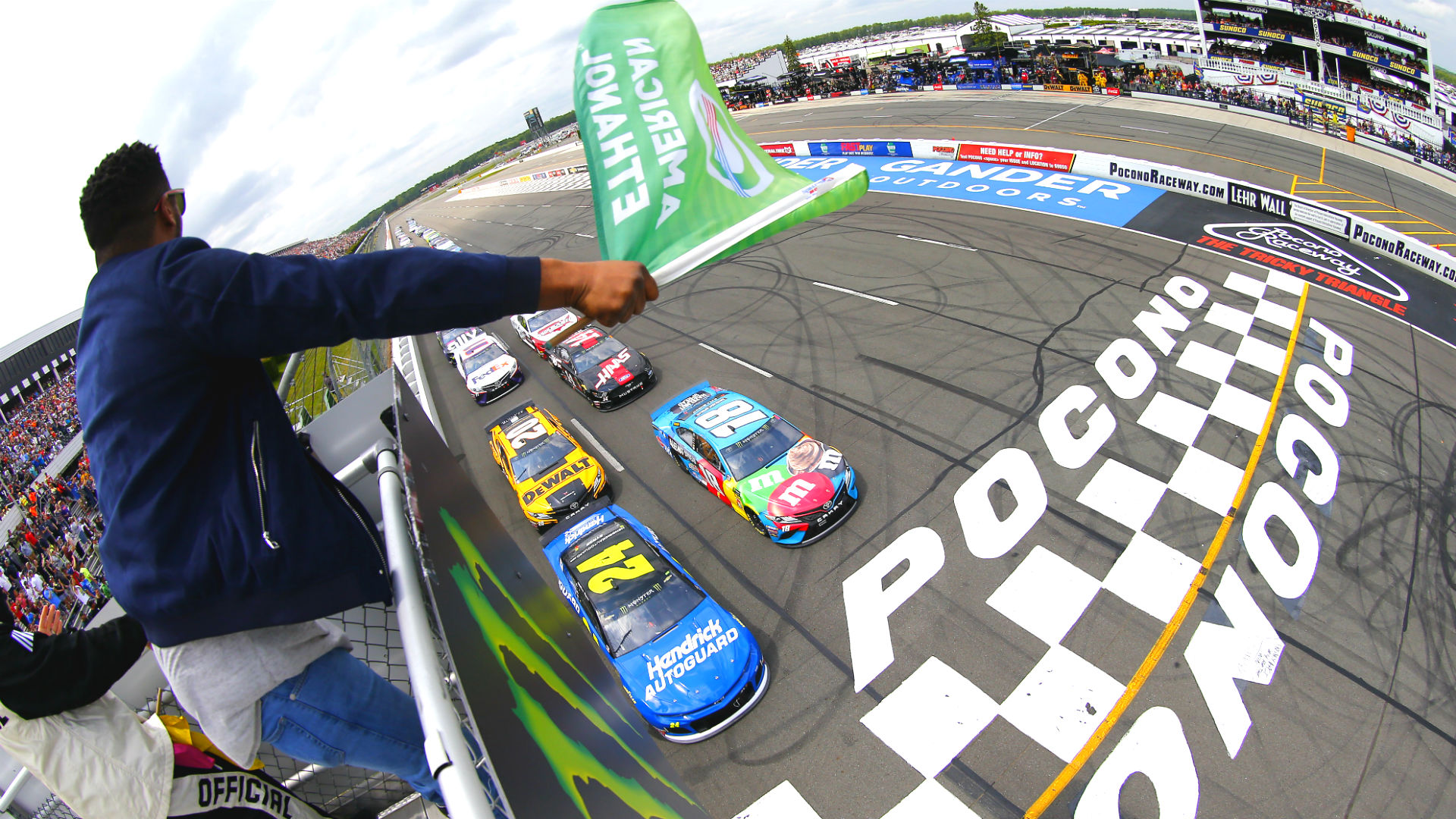 Photo of NASCAR lineup at Pocono: Starting order, pole for Sunday's race with out qualifying