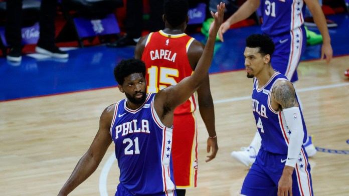 76ers' Joel Embiid on not winning NBA MVP award: 'I'm focused on winning the championship'