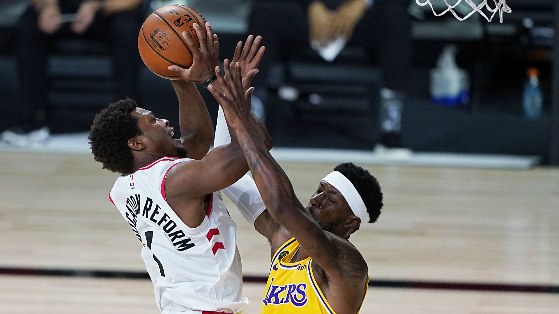 Kyle Lowry, Raptors took off the bubble wrap to compete vs ...