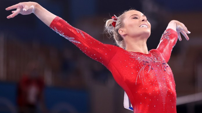 MyKayla skinner was just about to quit the Olympics and gets shot At medal, Simone Biles' vault substitute