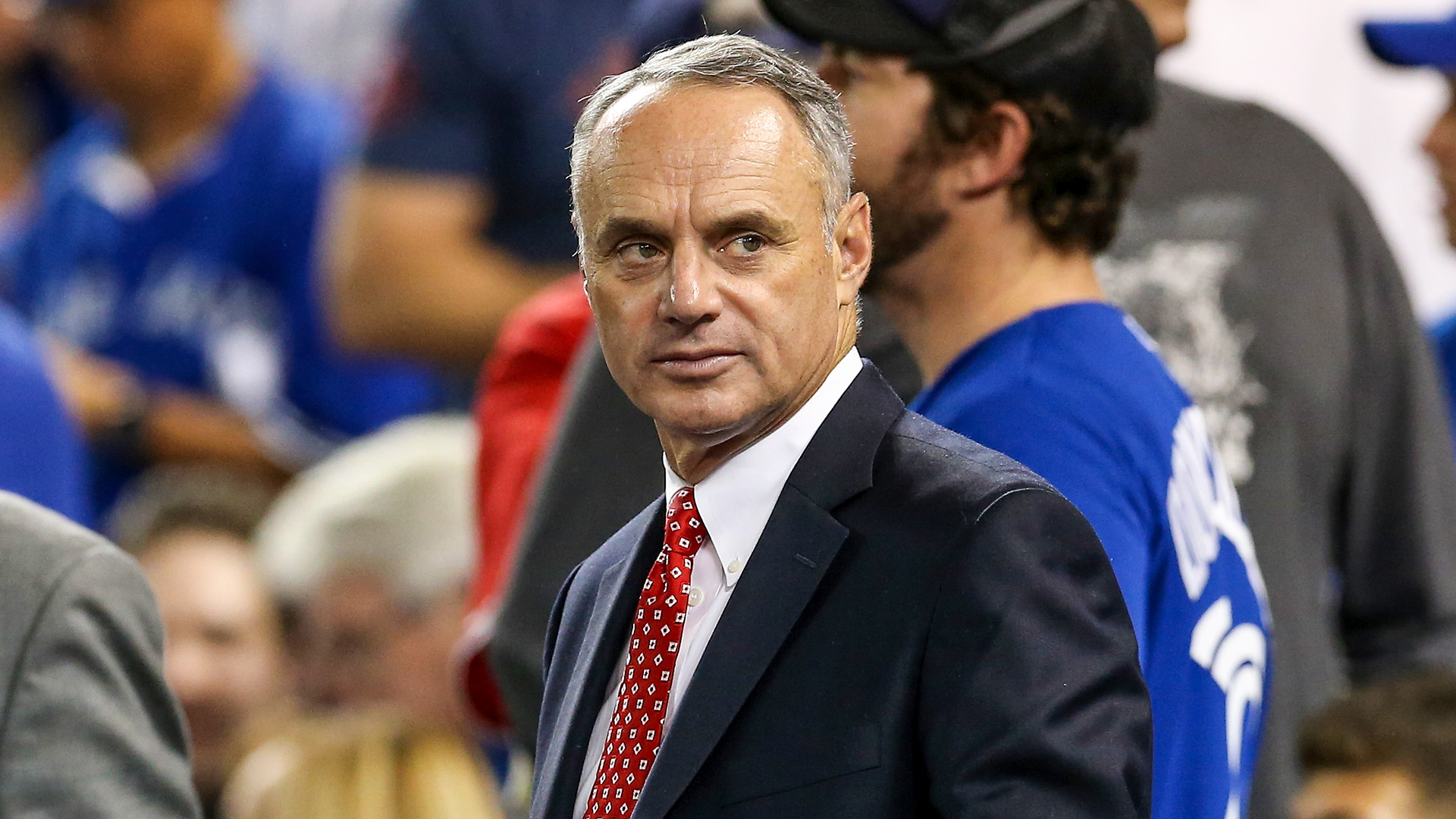Photo of Rob Manfred's flip-flop on MLB season seen by players as stalling tactic, more bad-faith negotiating