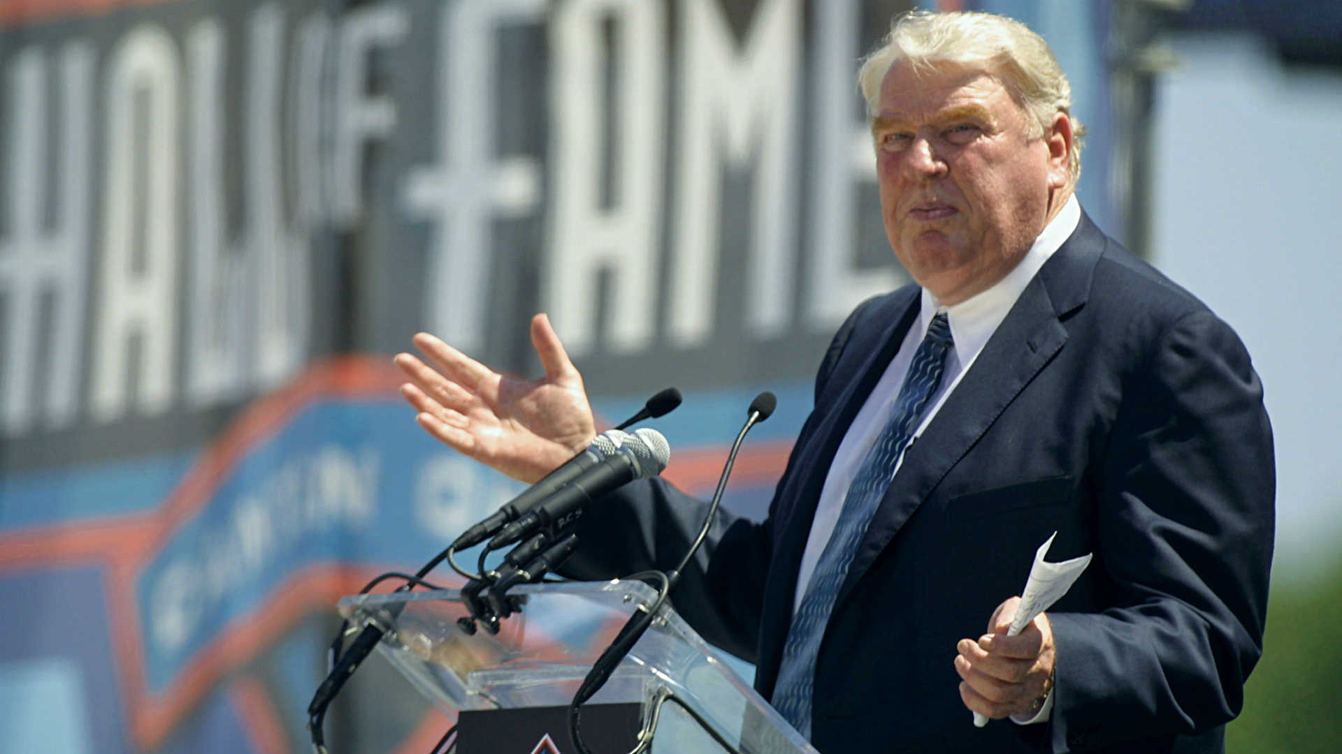 John Madden has good reason to avoid artificial crowd noise on NFL broadcasts, but will he get his wish?
