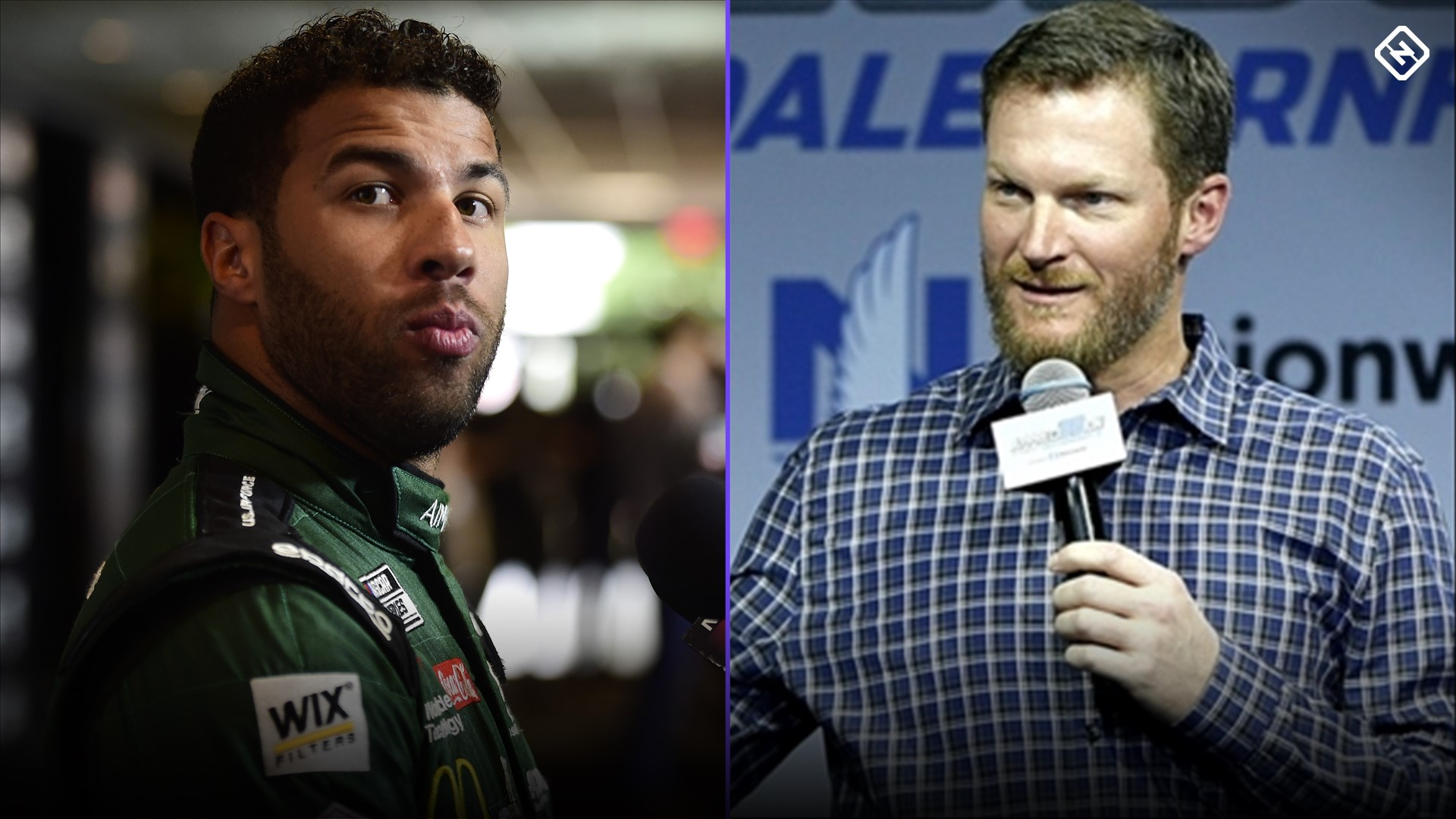 Photo of Dale Earnhardt Jr.'s perspective on race changes and Bubba Wallace played a role