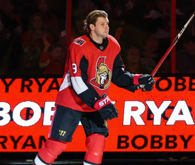 Senators Bobby Ryan Scores Emotional Hat Trick In First Home Game