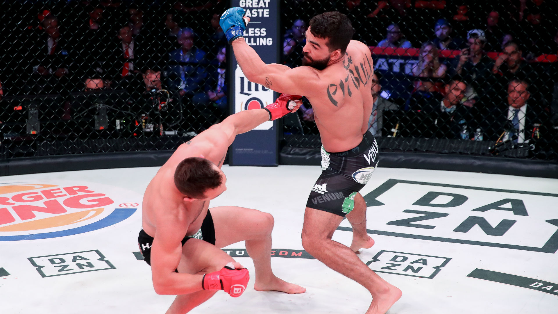 Bellator 221 results: Patricio 'Pitbull' knocks out Michael Chandler in 61  seconds to become double champ | Sporting News