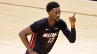 Bam Adebayo's defense on Kyrie Irving was even more impressive than his game-winning shot