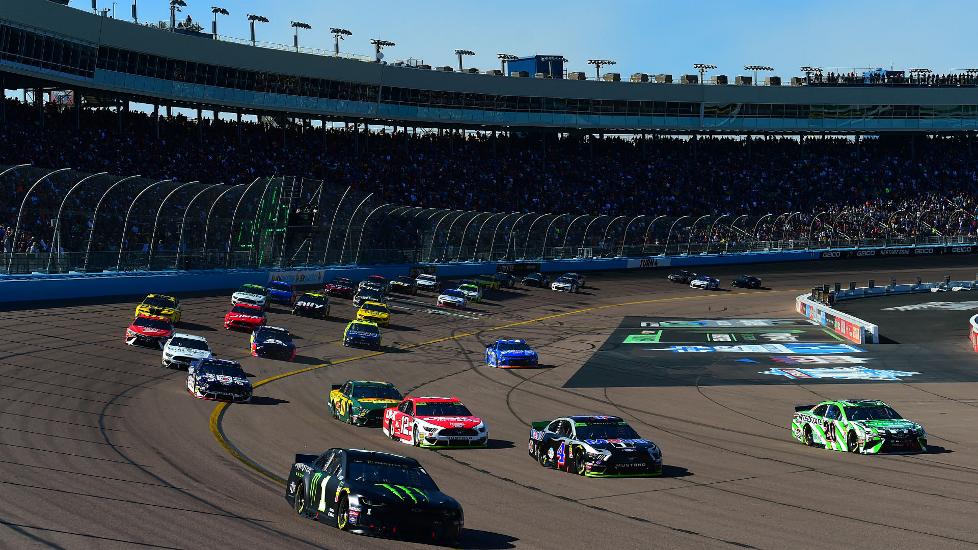 What channel is NASCAR on right now? Start time, TV schedule for Phoenix race