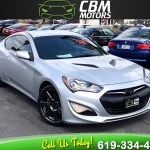 Sold 2015 Hyundai Genesis Coupe W Bluetooth 3 8l Base In El Cajon