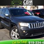Sold 2011 Jeep Grand Cherokee Overland 4wd W Nav Back Up Camera Pan Moonroof In El Cajon