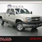 Sold 2003 Chevrolet Silverado 2500hd Ls Ext Cab Diesel Duramax Low Miles In Dallas